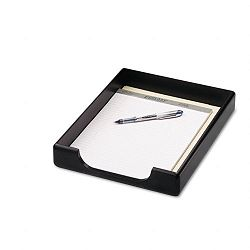 Wood Tones Letter Desk Tray Wood Black (ROL62523)