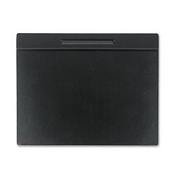 "Wood Tone Desk Pad Black 24"" x 19"" (ROL62540)"