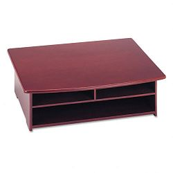 "Wood Tones Printer Stand 21"" x 18"" Mahogany (ROL82437)"