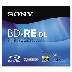 BD-RE Dual Layer Rewritable Disc 50GB 2x (SONBNE50RH)