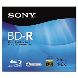 BD-R Recordable Disc 25GB 2x (SONBNR25R3H)