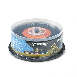 Digital Vinyl CD-R Discs 700MB80min Spindle Pack of 25 (VER94488)