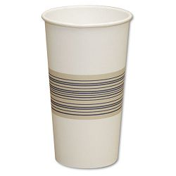 Paper Hot Cups 20 oz. BlueTan 20 Bags of 25 Carton of 500 (BWK20HOTCUP)