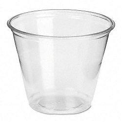 Clear Plastic PETE Cups Cold 9 oz. Regular Size 20 Packs of 50Carton (DXECP9A)