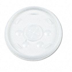 Plastic Lids for 12-oz. HotCold Foam Cups Slip-Thru Lid WE Carton of 1000 (DRC12SL)