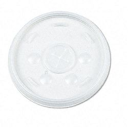 Plastic Lids for 16-oz. HotCold Foam Cups Slip-Thru Lid WE Carton of 1000 (DRC16SL)