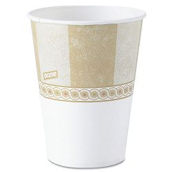 Cold Drink Cups Polycoated Paper 16 oz. Sage Pack of 50 (DXE16PSAGE)