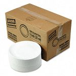 "White Paper Plates 9"" dia. 4 Packs of 250Carton (DXE709902WNP9)"