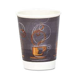 HotCold Cups Paper 12 oz. Aroma Design 25Pack (DXEAROREF0112PK)