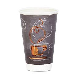 HotCold Cups Paper 16 oz. Aroma Design 25Pack (DXEAROREF0116PK)