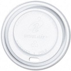 Dome Cup Lids Fits 8-oz. Cups White Carton of 1000 (DXEPDL8FR1000)