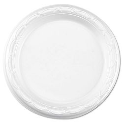 "Tableware Plates Round 6"" dia. White Carton of 1000 (DZOGFP61000)"