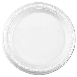 "Tableware Plates Round 7"" dia. White Carton of 1000 (DZOGFP71000)"