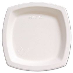 "Bare Eco-Forward Dinnerware 10"" Plate Ivory Pack of 125 (SLO10PSC2050PK)"