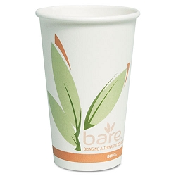 Bare EcoForward Recycled Content PCF Hot Cups 16 oz. Pack of 50 (SLO316RCPK)
