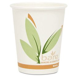 Bare EcoForward Recycled Content PCF Hot Cups Paper 10 oz. 1000 per Carton (SLO370RC)