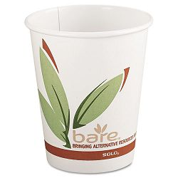 Bare EcoForward Recycled Content PCF Hot Cups 8 oz. Carton of 1000 (SLO378RC)