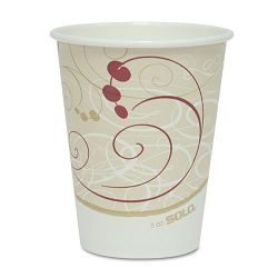 Hot Cups Symphony Design 8 oz. Beige Pack of 50 (SLO378SMJ8000PK)