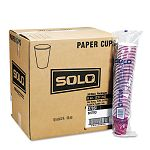 Bistro Design Hot Drink Cups Paper 12 oz. Maroon 20 Bags of 50Carton (SLO412SIN)