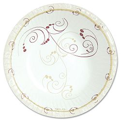 Symphony Paper Dinnerware Heavyweight Bowl 12 oz. Tan 250Pack (SLOHWB12J8001PK)