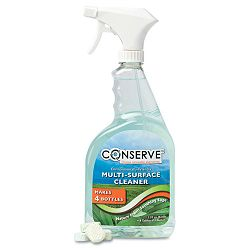 Conserve Multi-Surface Cleaner One Gallon Four 32 oz. Refills Sage (BAU10520)