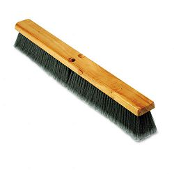 "Floor Brush Head 3"" Gray Flagged Polypropylene 24"" (BWK20424)"