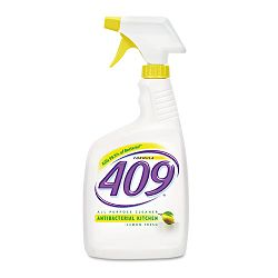 Formula 409 Antibacterial Kitchen Spray Lemon Scent 32oz. Bottle Carton of 12 (COX00888)