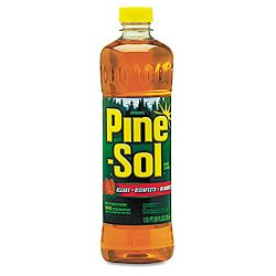 Pine-Sol Cleaner Disinfectant Deodorizer 28 oz. Bottle Carton of 12 (COX40174CT)