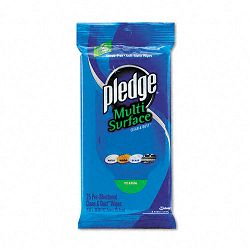 "Multi-Surface Cleaner Wet Wipes Cloth 7"" x 10"" 25Pack Carton of 12 (DRACB214629CT)"