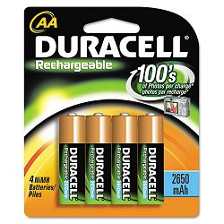 Rechargeable NiMH Batteries AA Pack of 4 (DURDC1500B4N)