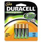 Rechargeable NiMH Batteries AAA Pack of 4 (DURDC2400B4N)