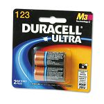Ultra High Power Lithium Battery 123 3V Pack of 2 (DURDL123AB2BPK)