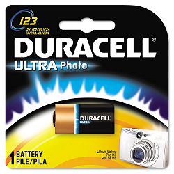 Ultra High Power Lithium Battery 123 3V (DURDL123ABPK)