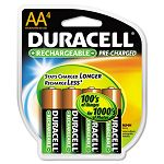 Coppertop NiMH Pre-Charged Rechargeable Battery AA Pack of 4 (DURDX1500B4N)