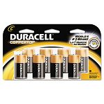 Coppertop Alkaline Batteries C Pack of 8 (DURMN14RT8Z)