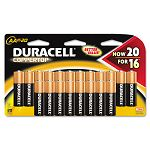 Coppertop Alkaline Batteries Resealable AA Pack of 20 (DURMN1500B20Z)