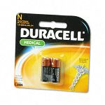 Coppertop Alkaline Medical Battery N 1.5V Pack of 2 (DURMN9100B2PK)