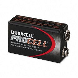 Procell Alkaline Battery 9V Box of 12 (DURPC1604BKD)