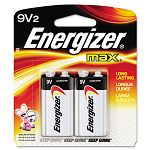 MAX Alkaline Batteries 9V 2 BatteriesPack (EVE522BP2)