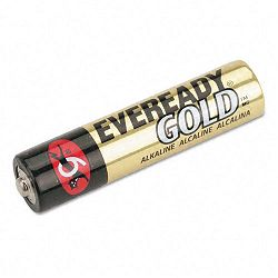 Gold Alkaline Batteries AAA 12 BatteriesPack (EVEA92BP12H)