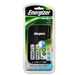 Charger for 4 AA or AAA Nimh Batteries 15-Minute Charge Cycle (EVECH15MNCP4)