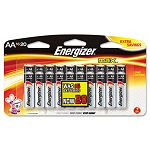 MAX Alkaline Batteries AA 20 BatteriesPack (EVEE91BP16F4)