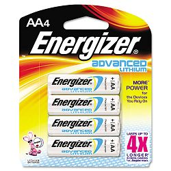 Advanced Lithium Batteries AA Pack of 4 (EVEEA91BP4)