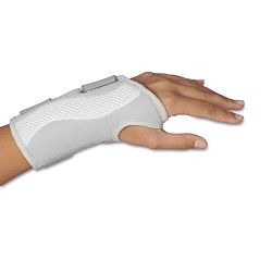Women's Slimfit Wrist Support Adjustable GreyWhite Right Hand (LIL00104)