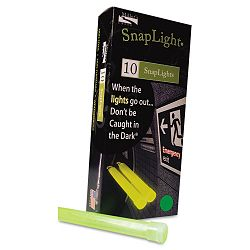 "Snaplights 6""l x 34""w Green Pack of 10 (MLE151848)"