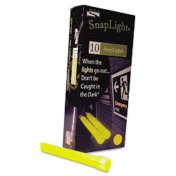 "Snaplights 6""l x 34""w Yellow Pack of 10 (MLE151849)"