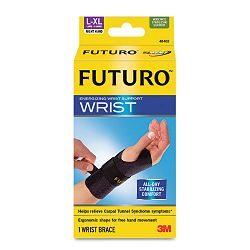 "Energizing Wrist Support LargeXLarge Fits Right Wrists 6 34"" - 8 12"" Black (MMM48402EN)"