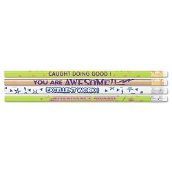 Award Woodcase Pencil Motivational Assortment HB #2 Gross (MPD8207)