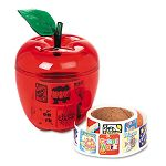 Stickers in Plastic Apple Reward 600 StickersPack (PAC51480)