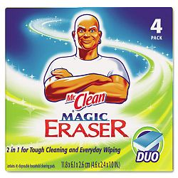 Magic Eraser Duo Pad Box of 4 (PAG01278)